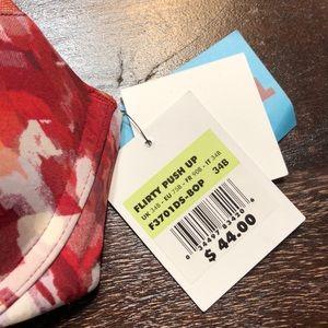 Calvin Klein Intimates & Sleepwear - New Calvin Klein flirty push up bra red paint 34B